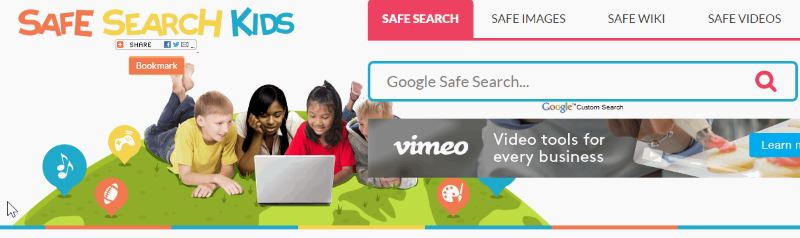 motori di ricerca per bambini The Safe Search Engine for Kids